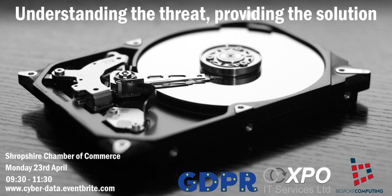 FREE event to highlight data threats – and their solutions