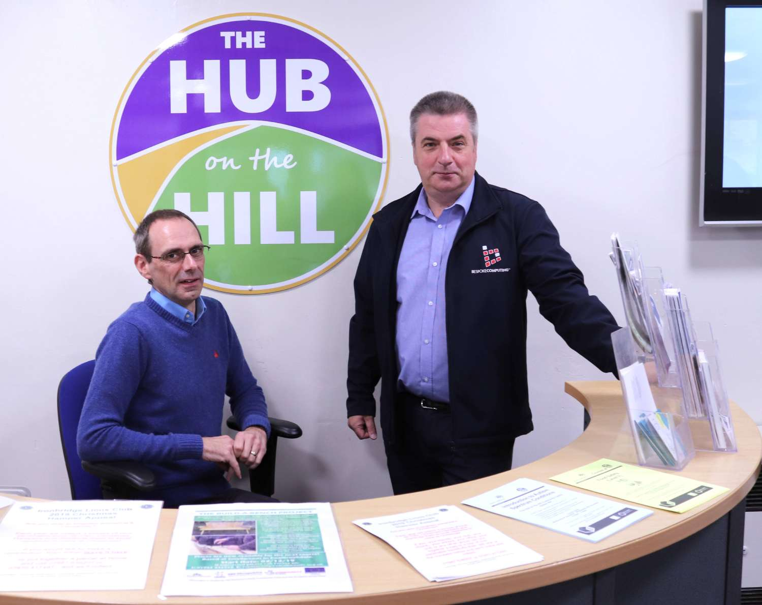 Terry & Paul, Sutton Hill Community Trust